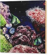 Lindsay's Aquarium Wood Print