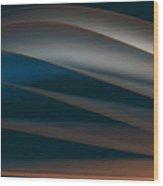 Line Wood Print