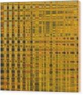 Linear Ripples 278 Wood Print