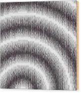 Linear Spiral Wood Print