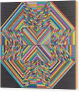 Linear Supersymmetry Wood Print