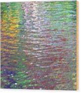 Linearized Light Wood Print