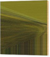 Lined Abstract  Wood Print