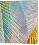 Linen Astract Wood Print