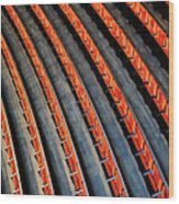 Lines Wood Print by Roman Rodionov