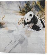 Ling Ling Wood Print