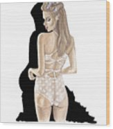 Lingerie  Wood Print