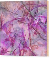 Linguistry Leafless  Id 16097-232542-78250 Wood Print