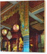 Lingyen Mountain Temple 1 Wood Print