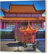 Lingyen Mountain Temple 11 Wood Print