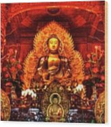 Lingyen Mountain Temple 4 Wood Print