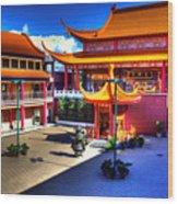 Lingyen Mountain Temple 8 Wood Print