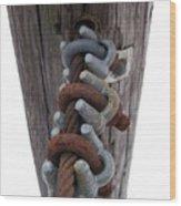 Linked Wood Print