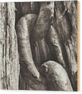 Links To Copper Harbor's Past Wood Print