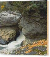 Linville Falls  Wood Print