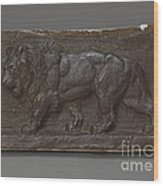 Lion Of The Colonne De Juillet Wood Print