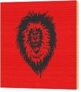 Lion Roar Wood Print