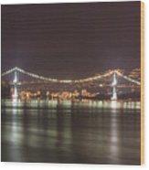 Lions Gate Bridge 2 Wood Print