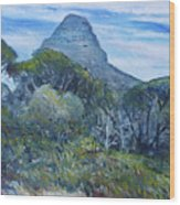 Lions Head Cape Town South Africa 2016 Wood Print
