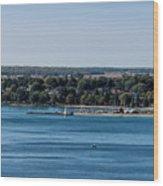 Lions Head Harbor, Ontario Wood Print