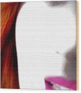Lips Wood Print
