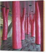 Lipstick Forest 2 Wood Print