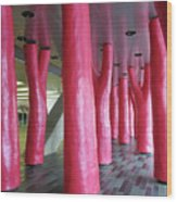 Lipstick Forest 3 Wood Print