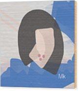Lipstick Wood Print