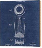Liquershot Glass Patent 1925 Blue Wood Print