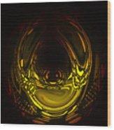 Liquid Aurora 2 Wood Print