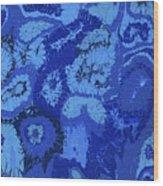 Liquid Blue Dream - V1lle30 Wood Print