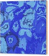 Liquid Blue Dream - V1sl100 Wood Print