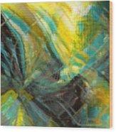 Liquid Oxygen 2 Wood Print