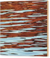 Liquid Sunset Wood Print