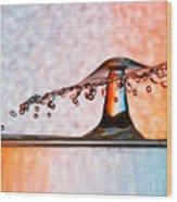 Liquid Umbrella Wood Print