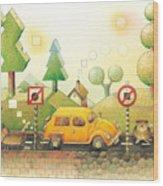 Lisas Journey02 Wood Print