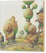 Lisas Journey05 Wood Print