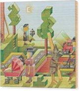 Lisas Journey08 Wood Print