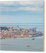 Lisbon 10 Wood Print