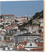 Lisbon 18 Wood Print