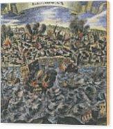 Lisbon Earthquake, 1755 Wood Print