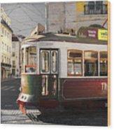 Lisbon Tram, Portugal Wood Print