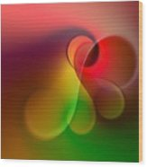 Listen To The Sound Of Colors -1- Wood Print by Issabild -