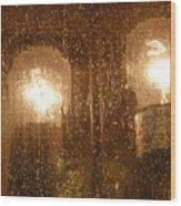 Lite Rain Wood Print