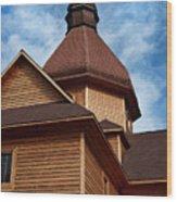 Lithuanian Church Wood Print