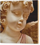 Little Angel Wood Print