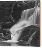 Little Bradley Falls #3 Wood Print