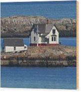 Little Brewster Island Wood Print
