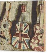 Little Britain, Big Sounds Wood Print