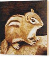 Little Chipper Wood Print